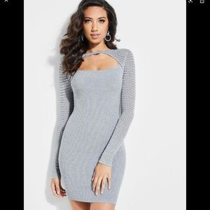 Guess sweater dress -Allison cutout dress